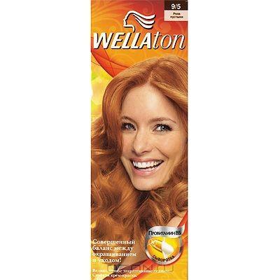 Крем-краска для волос Wellaton 9/5. Роза пустыни