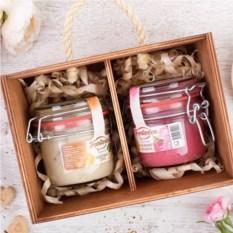 Набор фруктового крем-мёда Frestorica «Сладкая парочка»