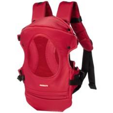 Рюкзак-переноска Happy Baby Amalfy красного цвета