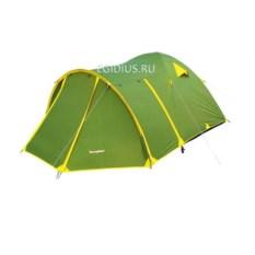 Палатка RockLand Discoverer 3+ зеленого цвета