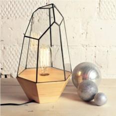 Ретро-светильник с лампой Эдисона Кристалл