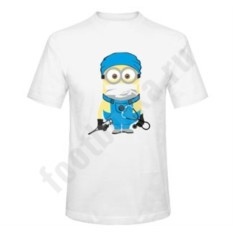 Мужская футболка Миньон-врач