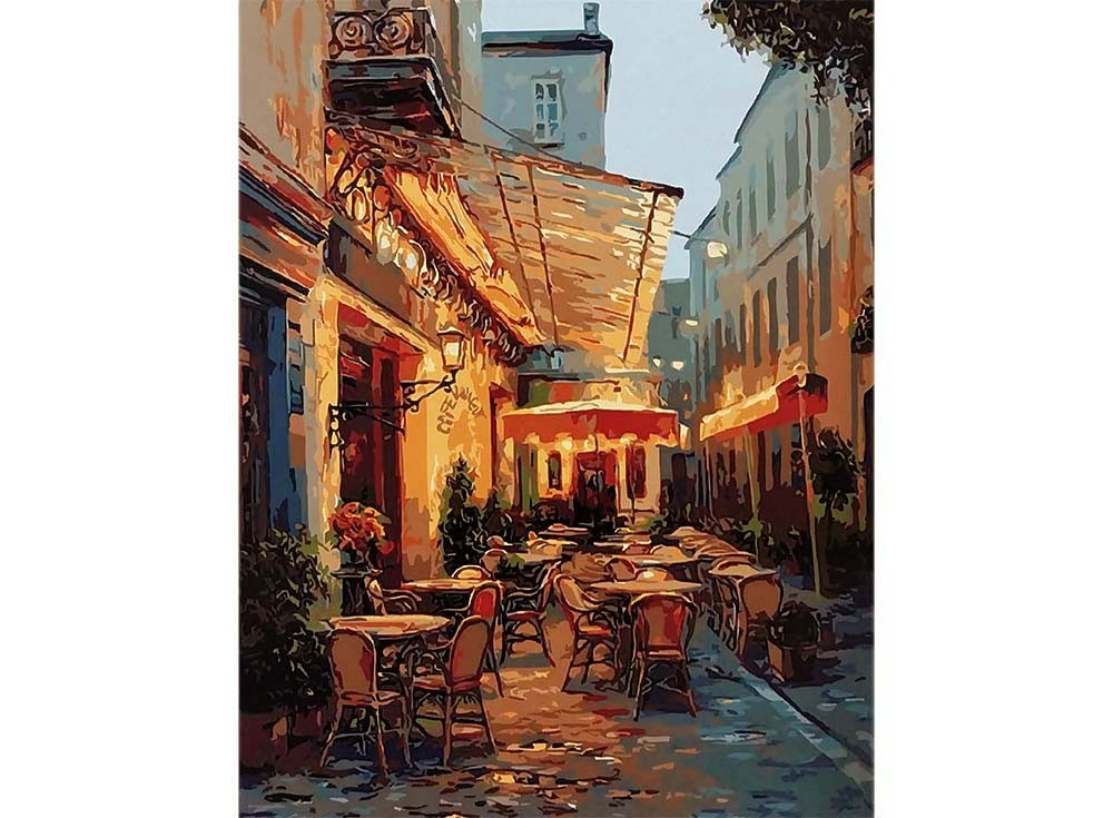 Картины по номерам «Кафе Ван Гога»