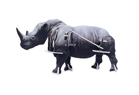Механическая головоломка «Носорог»