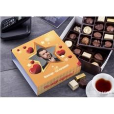 Бельгийский шоколад в подарочной упаковке Для любимых