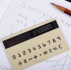 Калькулятор-визитка