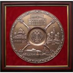 Картина из металла Виды Москвы