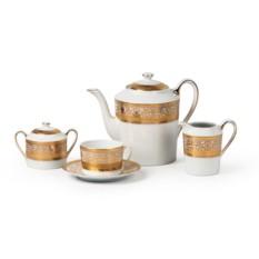 Фарфоровый чайный сервиз на 6 персон DIDON OR MIMOSA