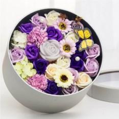 Подарочный набор мыла «Коробка цветов»