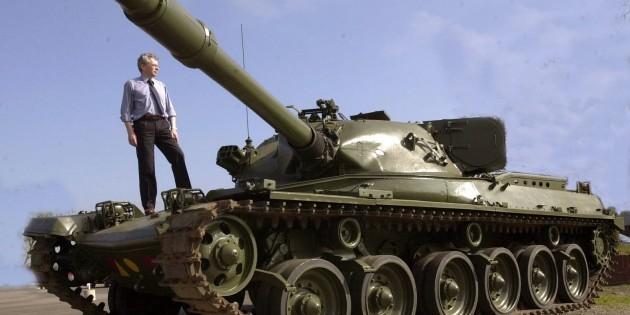 Сертификат Экскурсия на боевом танке или БМП (1 человека)