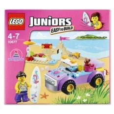 Конструктор Lego Juniors «Поездка на пляж»