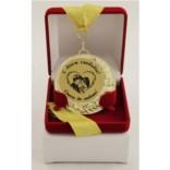 Медаль в футляре С Днем свадьбы