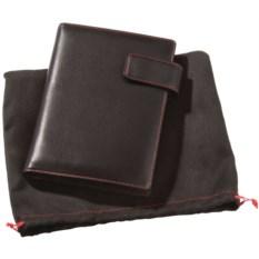 Черный с красной отделкой блокнот Viaggi