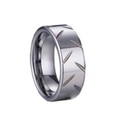 Вольфрамовое мужское кольцо