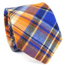 Узкий галстук (оранжевый)