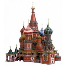 3D Пазл «Собор Василия Блаженного»