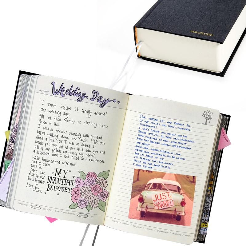 Черный дневник для двоих Our life story