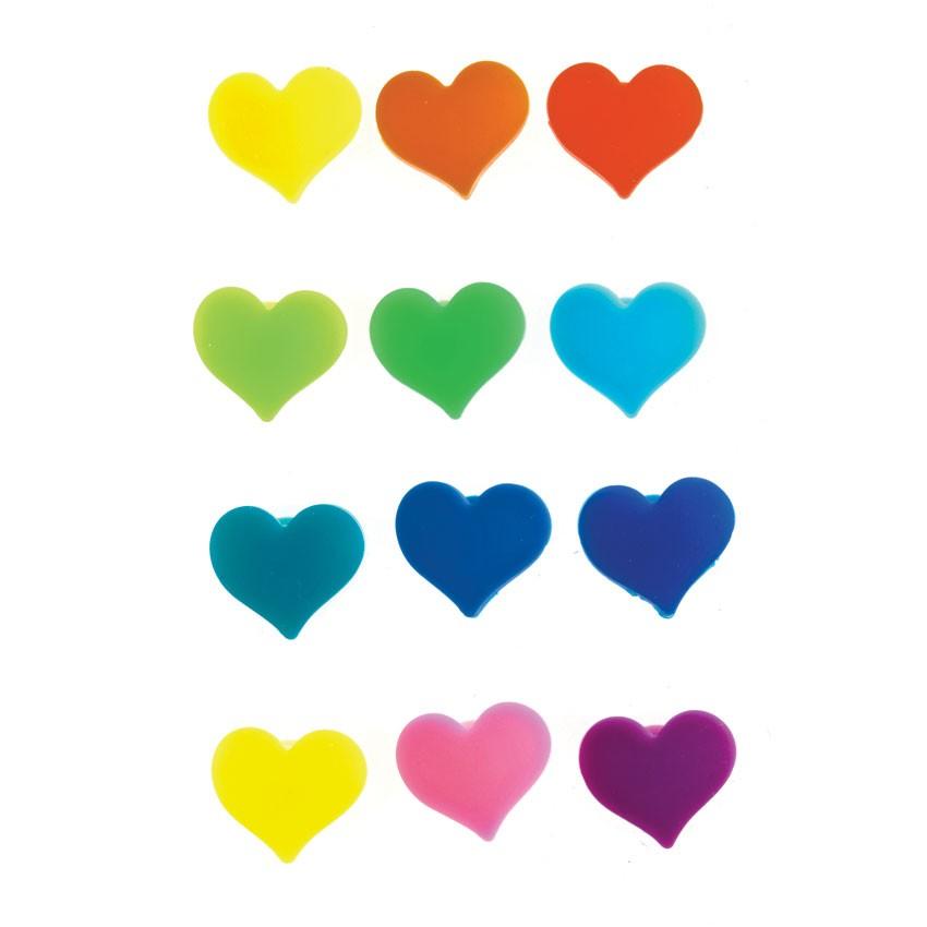 Набор маркеров для стаканов Сердечки