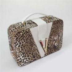 Шкатулка Леопард, размер 24,5х16,5х7,6см