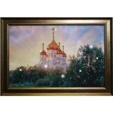 Картина с кристаллами Swarovski В лучах солнца