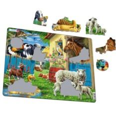 Пазл Larsen «Животные фермы»