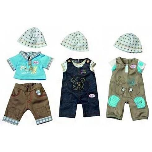 Одежда джинсовая для мальчика Baby born