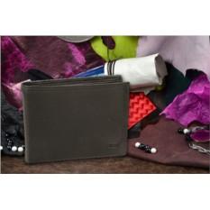 Чёрное мужское портмоне коллекции Mano из натуральной кожи