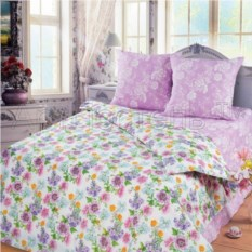 Постельное белье Цветные сны (евростандарт)