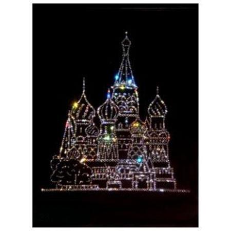 Картина Сваровски «Москва»