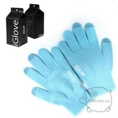 Голубые перчатки для сенсорного экрана iGlove