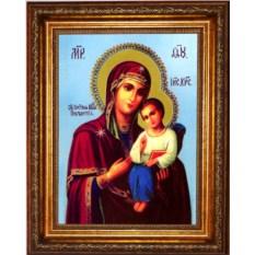 Казанская икона Божией Матери на холсте Песчанская
