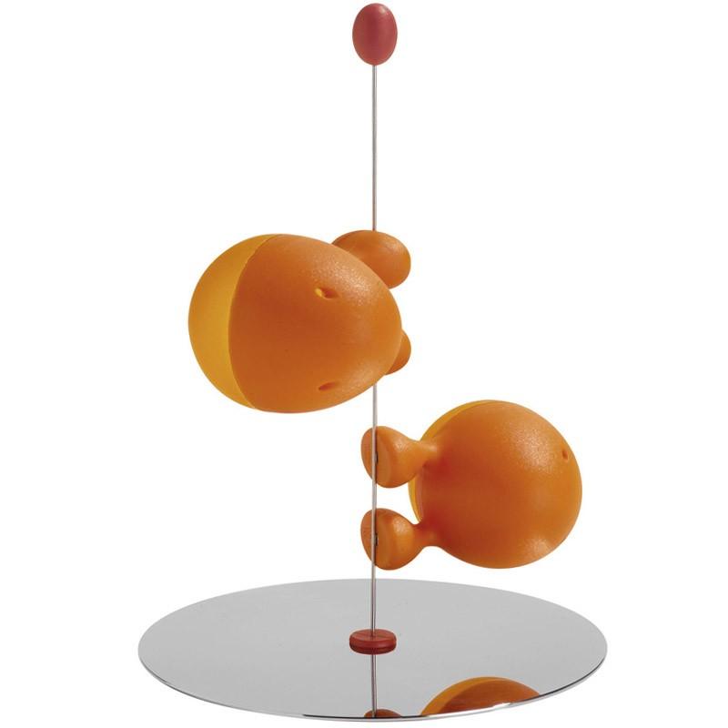 Оранжевые солонка и перечница Liliput