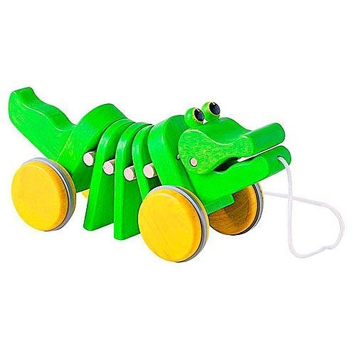 Каталка Plan Toys Танцующий крокодил