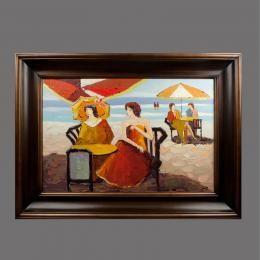 Картина «Лазурный берег», холст, масло