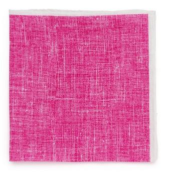 Розовый льняной платок Roda