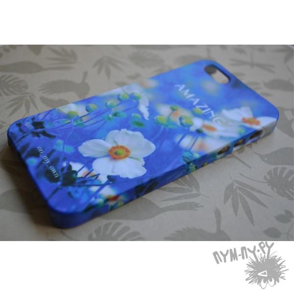 Чехол для iPhone 5/5s/4/4s Магия цветов
