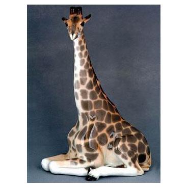 Анималистическая скульптура «Жираф»