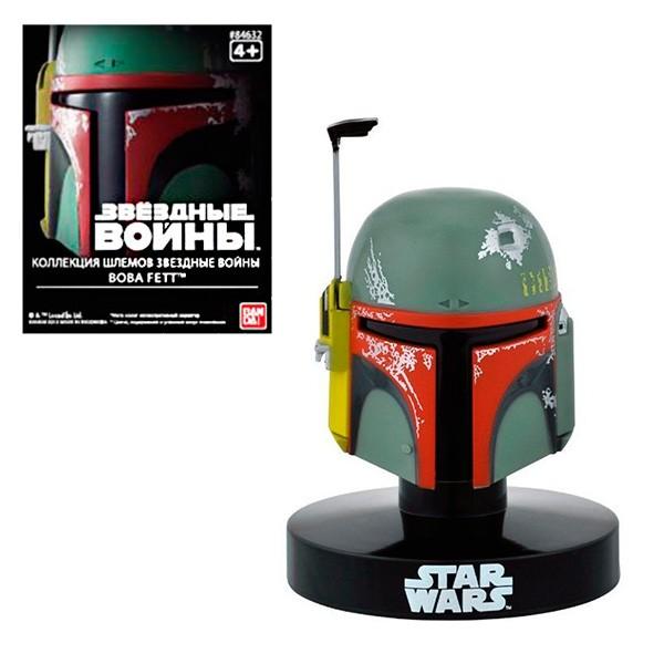 Шлем на подставке Звездные войны. Боб Фетт 6,5 см