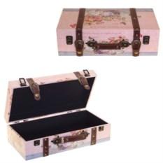 Шкатулка-чемоданчик, размер 40 х 20 х 12 см