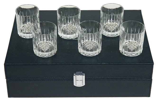 Подарочный набор для крепких напитков на 6 персон