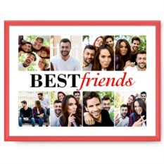 Фотопостер в рамке Best friends