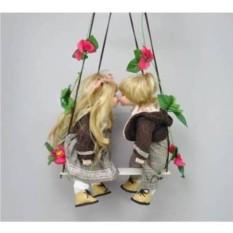 Фарфоровые парные куклы Вилли и Полли