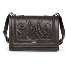 Женская сумка из натуральной кожи(цвет — коричневый)