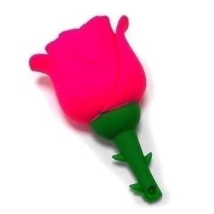Флешка Роза (красная)