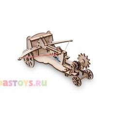 Деревянный конструктор Скорпион