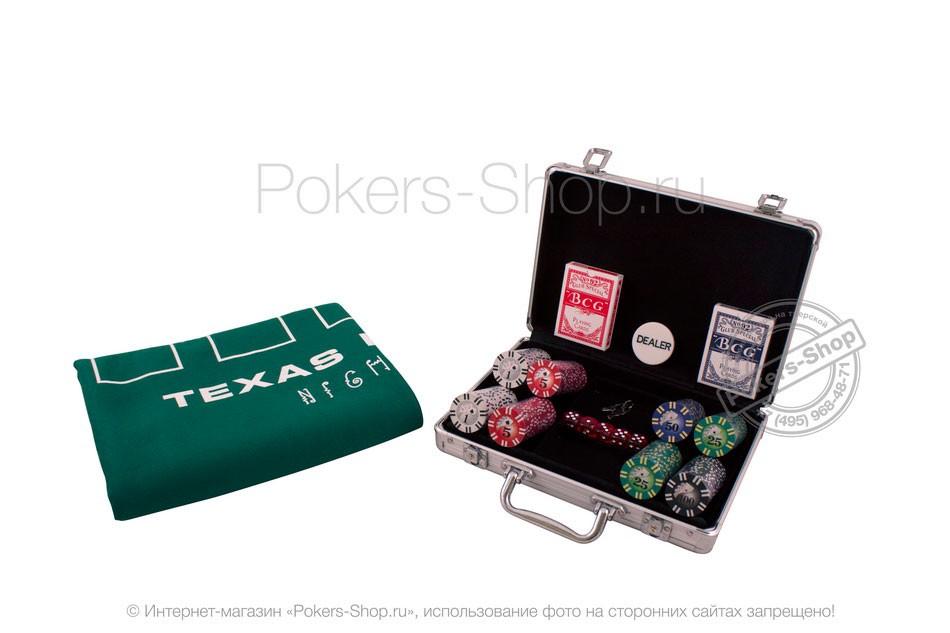 Набор для покера Royal Flush на 200 фишек Premium