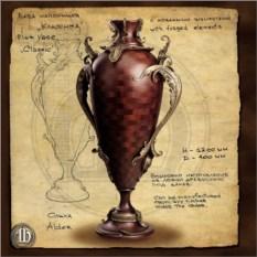 Напольная ваза с ковкой 2 (Византия)