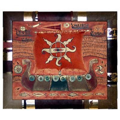 Панно декоративное «Корабль»