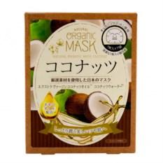 Органическая маска для лица с экстрактом кокоса Japan Gals