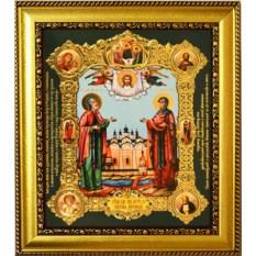 Икона Петр и Февронья Святые Муромские чудотворцы